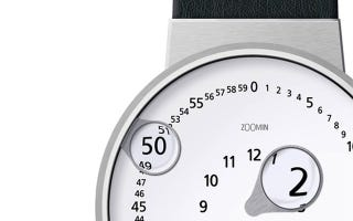 Illustration for article titled Never Squint To Read The Time Again With This Watch Concept
