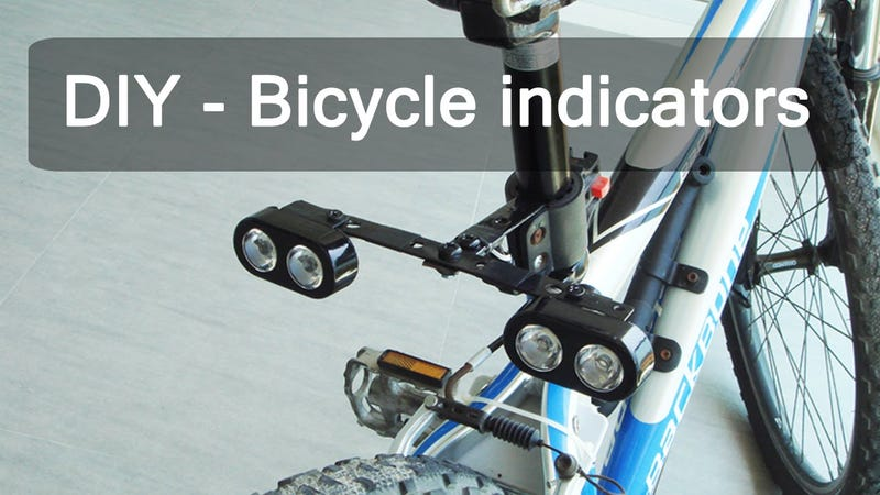 On One Bikes >> These DIY Bike Signals Are Easy to Make and Last For Ages on One Battery