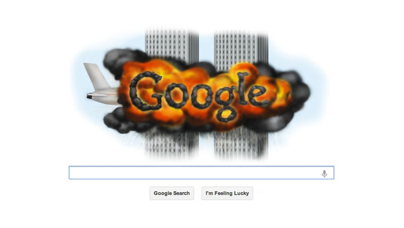 Google\'s 9/11 Homepage Design Stirs Controversy