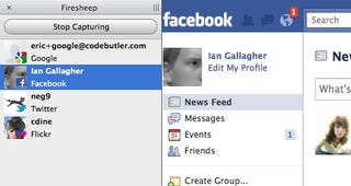 Firesheep Sniffs Out Facebook and Other User Credentials on