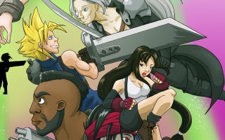 Illustration for article titled 20 Years: Final Fantasy 7