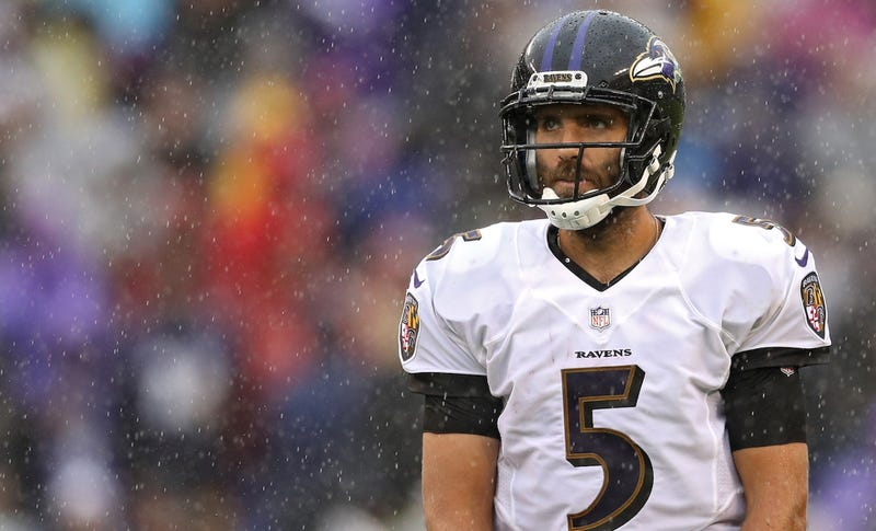 Illustration for article titled Joe Flacco's Wife Thinks He Needs To Try Harder At Wide Receiver