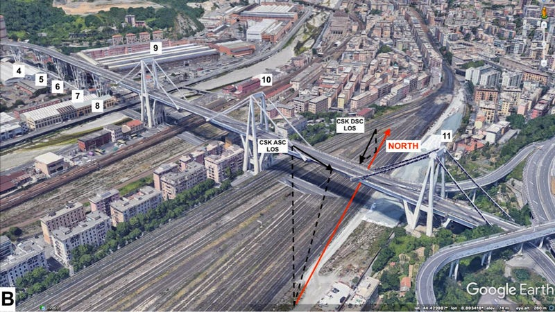 Illustration for article titled Satellite Imagery Can Now Be Used to Predict When Bridges Might Collapse