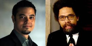 Matthew M. Briones; Cornel West(Courtesy of Matthew M. Briones; Princeton University)