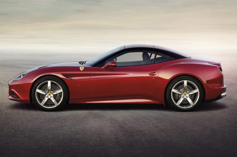 Illustration for article titled Ferrari makes a decent Corvette.