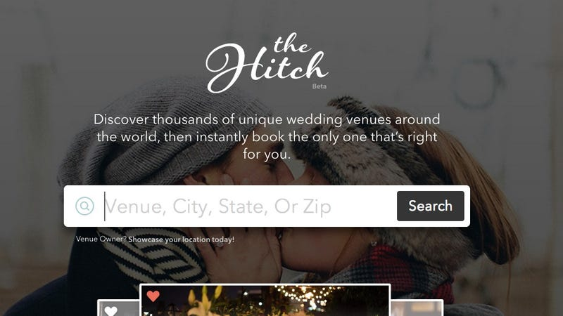 Illustration for article titled Someone FINALLY Made a Search Engine for Wedding Venues