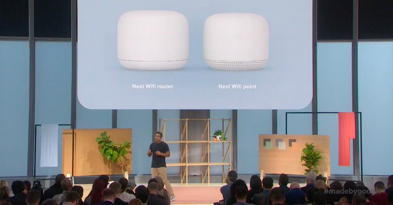 Illustration for article titled New Google Nest Wifi Brings Mesh Nodes That Double As Smart Speakers