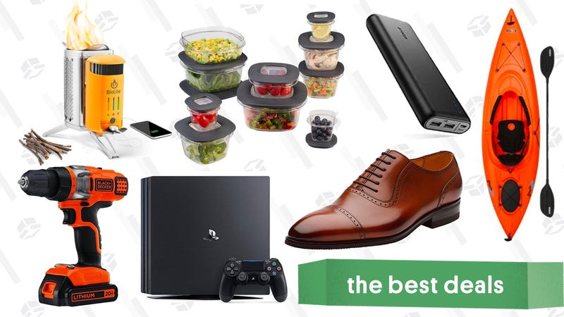 Illustration for article titled Friday's Best Deals: Dress Shoes, PS4 E3 Discounts, Father's Day Gifts, and More