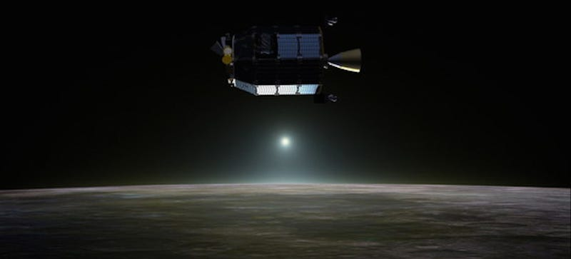 Illustration for article titled NASA Has One More Chance to Explain Bizarre Glow on Moon's Horizon