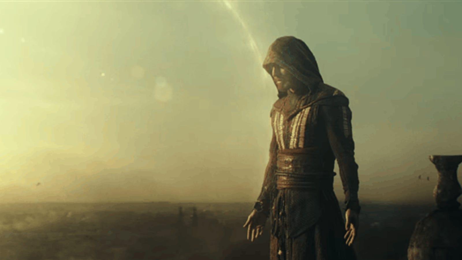 Este salto desde 40 metros de altura para la película Assassin's Creed no es CGI. Así se rodó