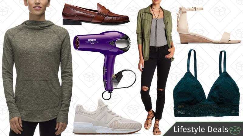Illustration for article titled Tuesday's Best Lifestyle Deals: New Balance, Conair, Cole Haan, Backcountry, and More
