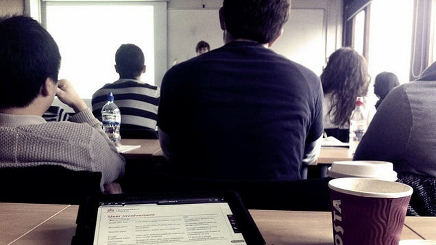 Get More Out of Boring Lectures by Imagining You're the Teacher