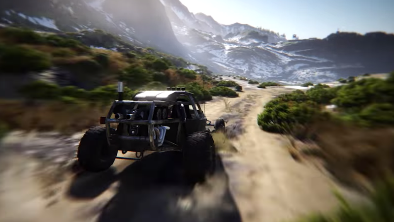 Looks Like Ghost Recon: Breakpoint Will Be a Good Driving Game