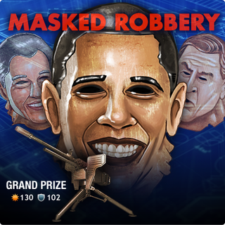 Illustration for article titled Mafia Wars Offers President Obama Masks In Time For Halloween