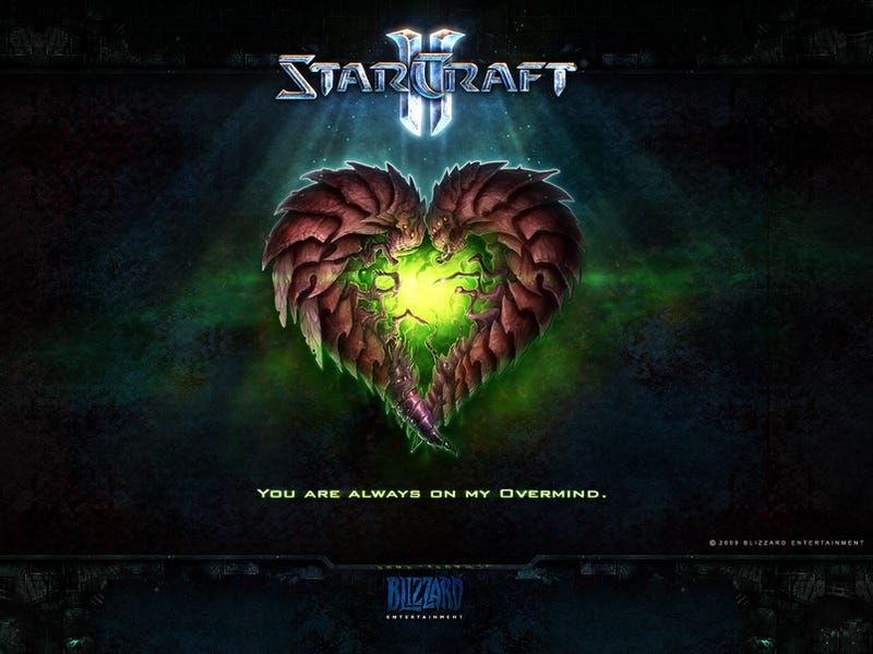 Illustration for article titled StarCraft II Valentine's Cards