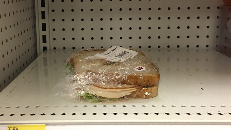 Illustration for article titled Walgreens Unveils New Line Of Shrink-Wrapped Sandwiches To Grab When Something Has Gone Horribly, Horribly Wrong