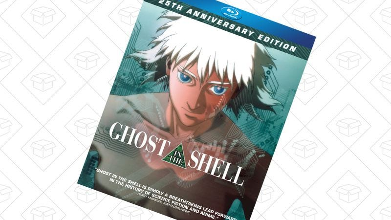 Illustration for article titled Today's best deals: Ghost In The Shell, Fitbits, and more