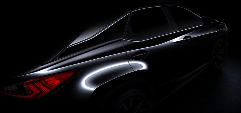 Illustration for article titled Looks Like The 2016 Lexus RX Will Get A Major Redesign