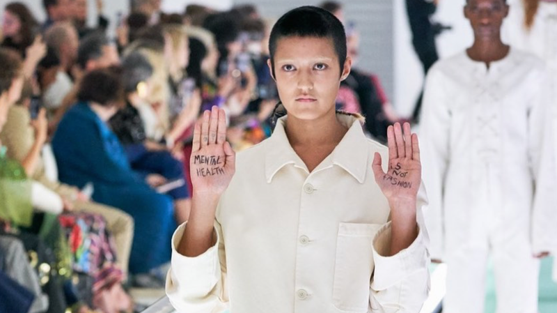 Gucci Model Talks About Transforming the Runway Into a Protest