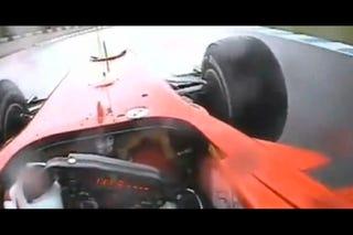 Illustration for article titled 2010 Ferrari F10: Felipe Massa On The Wet-Track Attack
