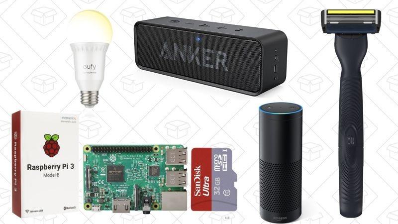 Illustration for article titled Las mejores ofertas de hoy: Anker SoundCore, Raspberry Pi, luces de Eufy y más