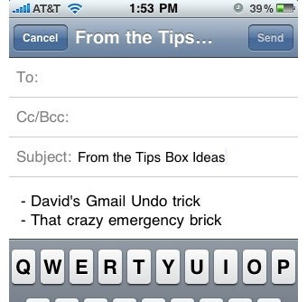 Illustration for article titled Use Gmail Drafts to Sync Text on Your Phone