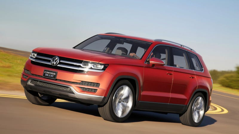 Illustration for article titled Volkswagen To Attempt To Bring Big SUVs Back Into Style In 2016