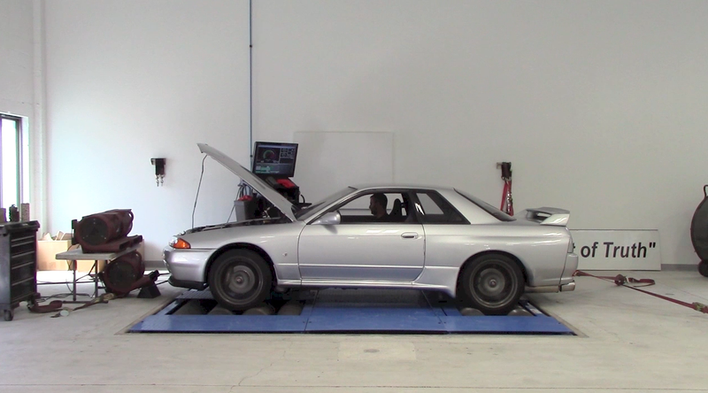 Illustration for article titled I Took My Nissan Skyline GT-R To A Dyno To Find Out How Much Power It Makes