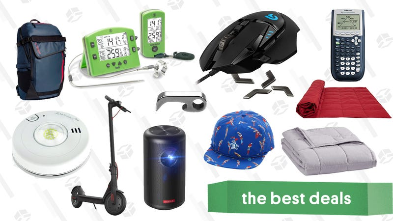 Illustration for article titled Tuesday's Best Deals: Nebula Capsule II, Down Comforters, Electric Scooters, and More