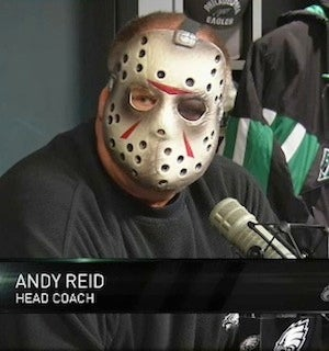 Illustration for article titled Andy Reid Is: Jason