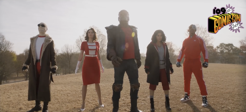 The Doom patrol getting ready to spring into action.