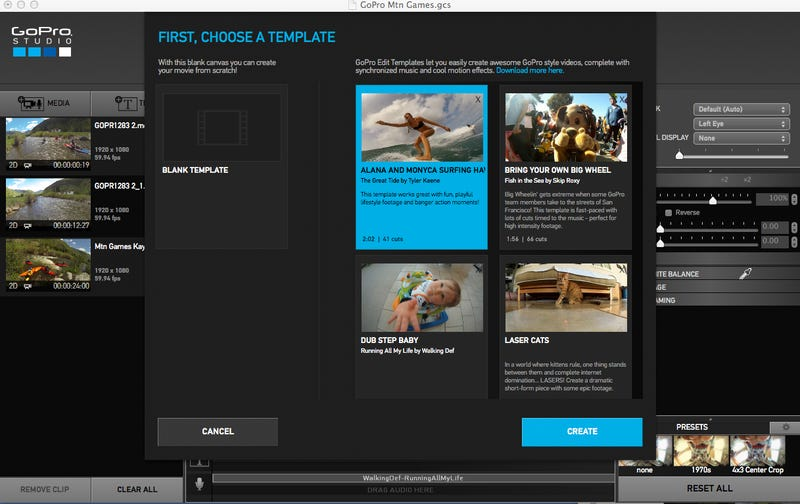 Gopro studio 20 hands on easier awesomer videos update pronofoot35fo Images