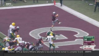 Montana Upsets Top-Ranked North Dakota State In Bonkers College Football Kickoff