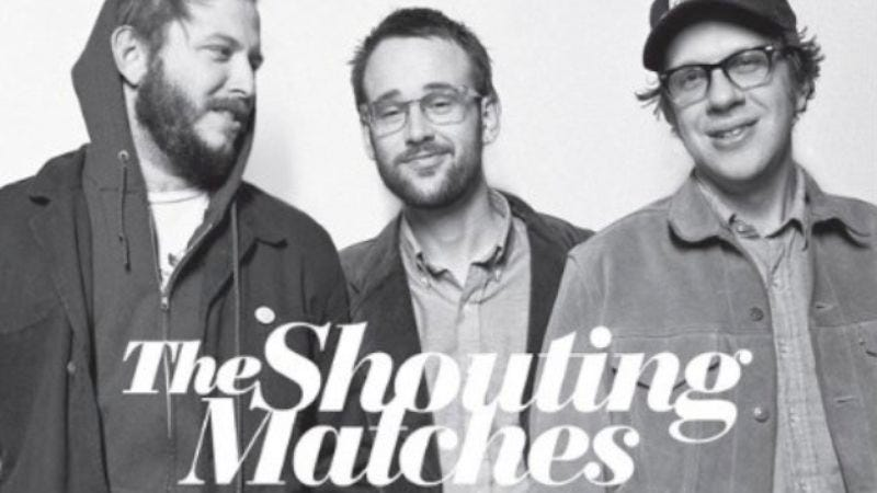 Illustration for article titled Listen to Justin Vernon and The Shouting Matches' debut album, Grownass Man