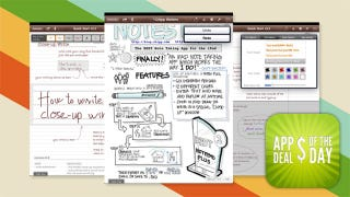 Illustration for article titled Daily App Deals: Get iPad Note-Taking App Notes Plus for $1.99, Previously $4.99