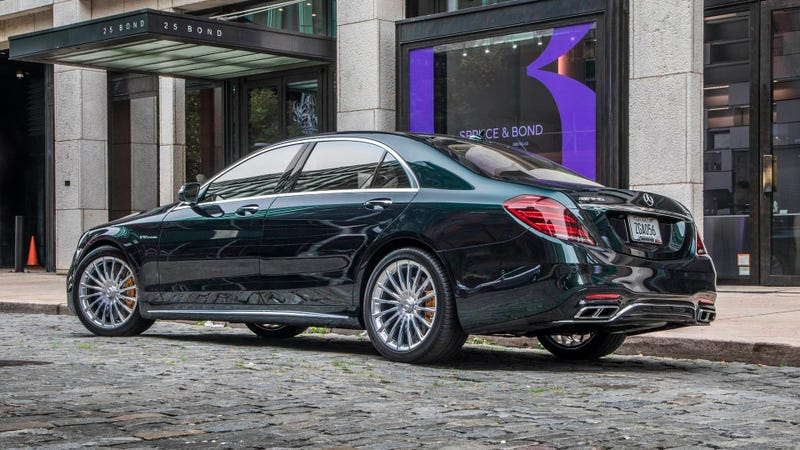 Illustration for article titled What sort of dullard would buy a brand-new S65 AMG?