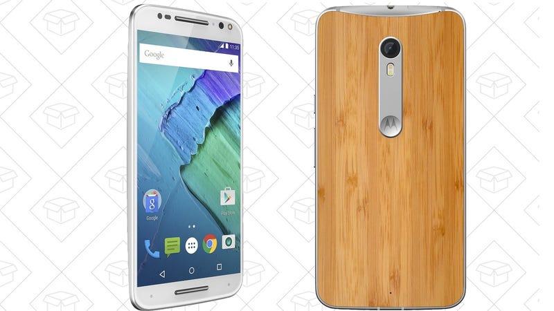 Moto X Pure Bamboo, $300