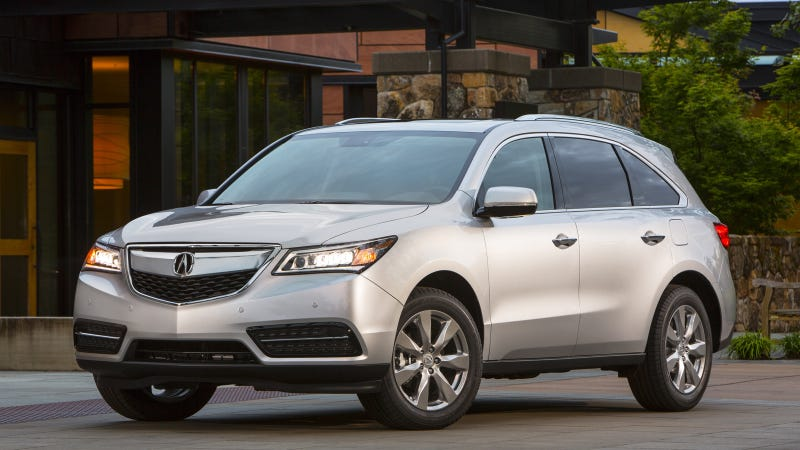 Illustration for article titled 2014 Acura MDX And RDX Achieve Top NHTSA Crash Scores Advancing Acura's Continued Safety Leadership