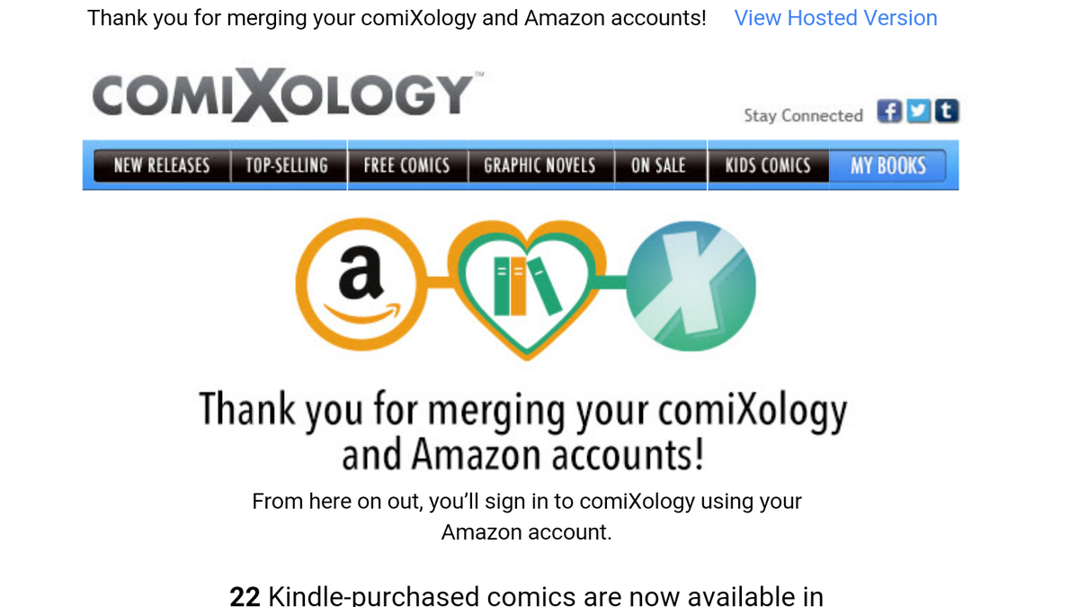 Comixology Can Now Be Used To Read Kindle Purchased Digital