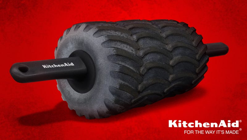 Illustration for article titled KitchenAid Unveils New All-Terrain Rolling Pin
