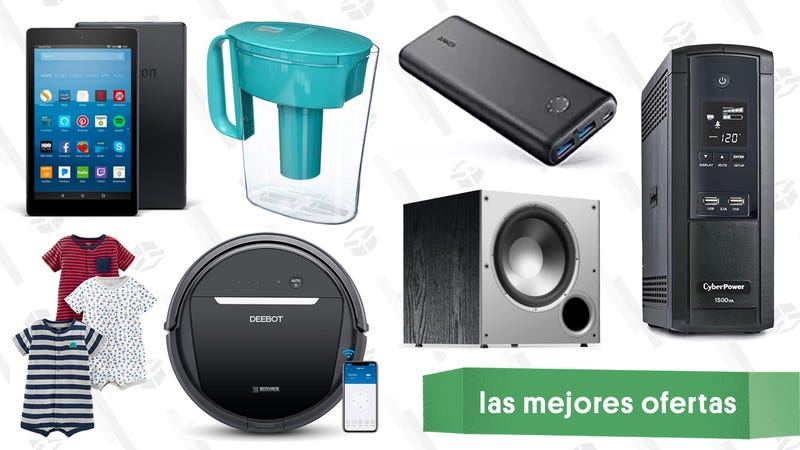 Illustration for article titled Las mejores ofertas de este lunes: Accesorios de Anker, aspiradoras robóticas, tablet de $40 y más