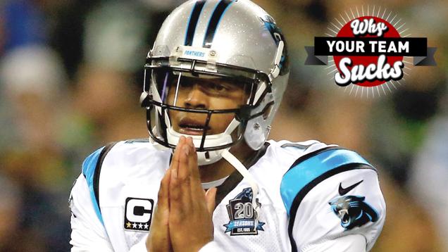 Why Your Team Sucks 2015: Carolina Panthers