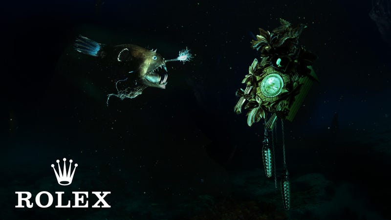 Illustration for article titled Rolex Unveils New Diving Cuckoo Clock Capable Of Working Up To 3,000 Meters Underwater
