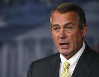 Speaker of the House John BoehnerMark Wilson/Getty Images