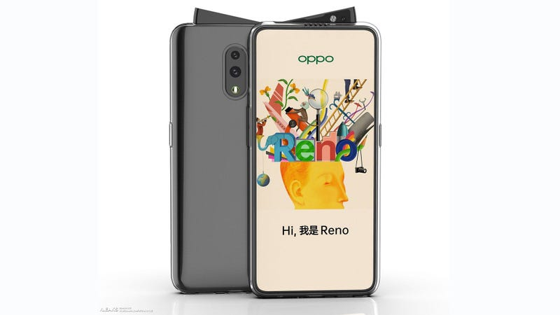 Illustration for article titled Oppo May Have Come Up With the Most Bizarre Pop-Up Camera Yet