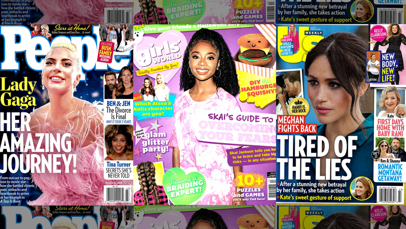 Illustration for article titled This Week in Tabloids: Girls' World is the Only Good Magazine