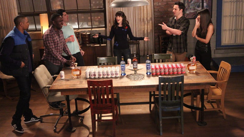 A True American flashback from New Girl's third season