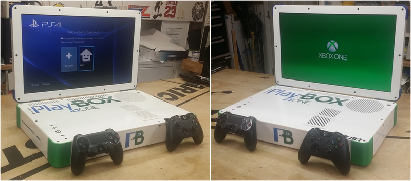 Illustration for article titled Un modder une la PS4 y Xbox One en un solo portátil. Y funciona