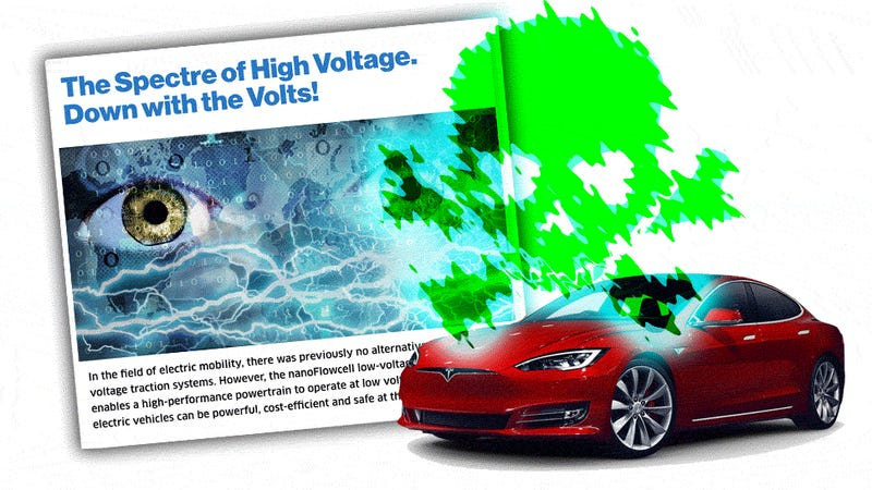 Are High Voltage Electric Cars Actually More Dangerous Than Low