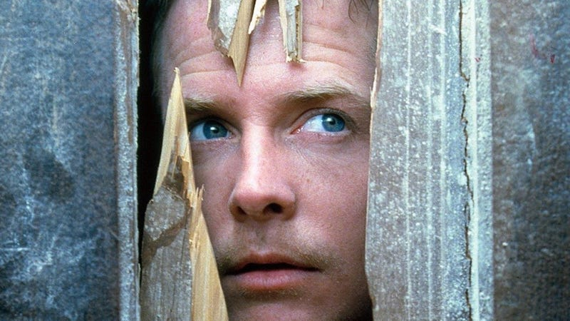 Michael J. Fox in the awesome horror comedy The Frighteners.